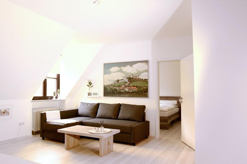 Ferienwohnung in Würzburg - Wohnzimmer